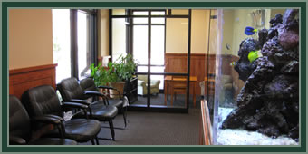 Lobby of Dr. Woodruff's office